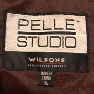 pellr studio wilson Jackets & Coats - Pellet Studio Wilson Black Leather Vest size XL